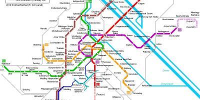 Vienna map - Maps Vienna (Austria)